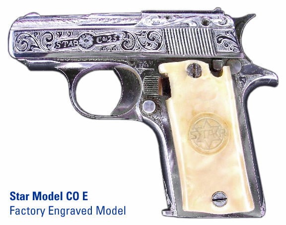 star firearms c series pistols