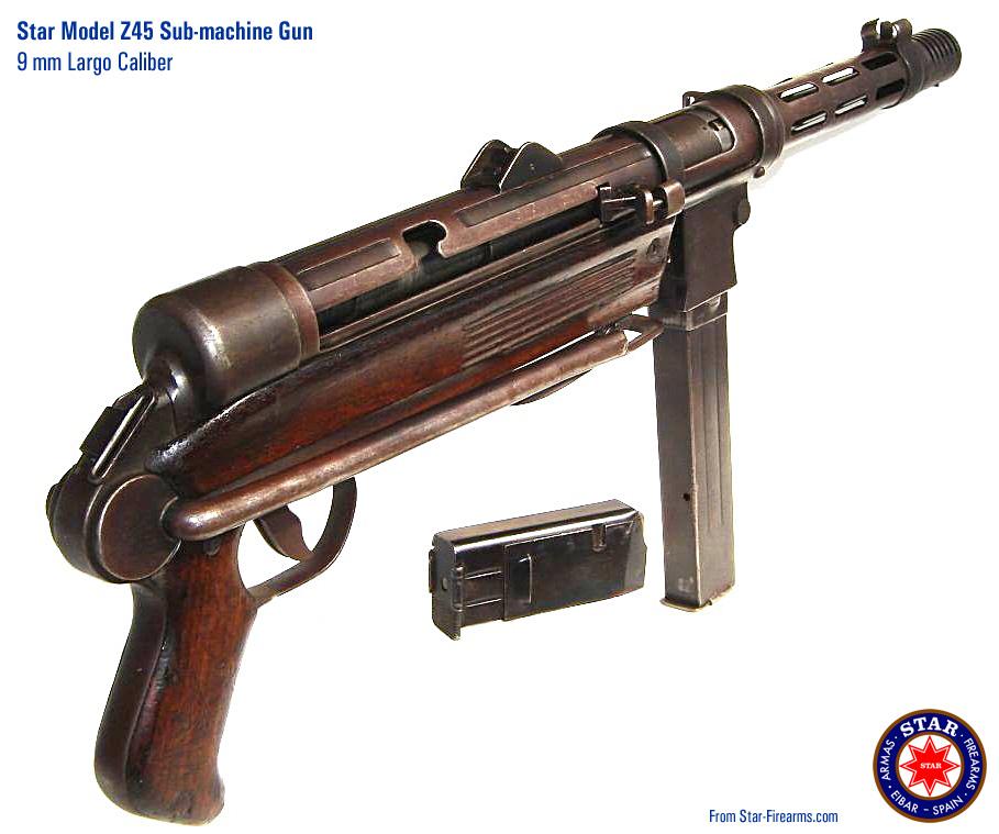 star firearms sub machine guns